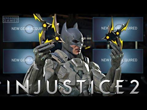 Injustice 2 - Unlocking A Bunch Legendary Gear!! (Online Beta)