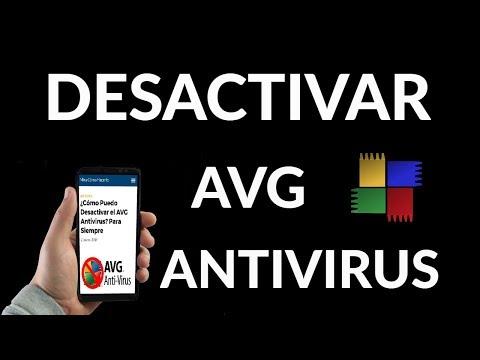 ¿Cómo Puedo Desactivar el AVG Antivirus?