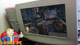 Запуск Fallout 4 на одноядерном ПК
