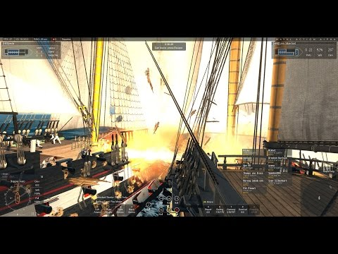 Naval Action Gameplay German PvP Event in a Buccentaure