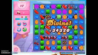 Candy Crush Level 1274 Audio Talkthrough, 3 Stars 0 Boosters