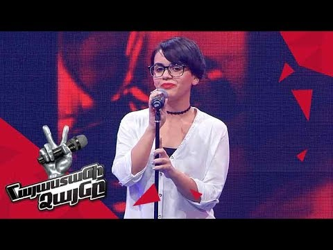 Erica Davtyan sings 'Toxic' - Blind Auditions - The Voice of Armenia - Season 4