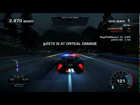 Need for Speed: Hot Pursuit™ - 24th June 2012 - ORF Event - Loads of Busted!
