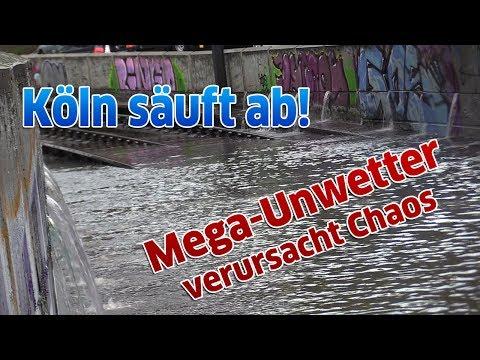 Mega-Unwetter sorgte für Chaos in Köln