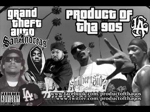 West Coast GTA San Andreas G-Funk Remix ft Mr. Criminal,2 Pac, Eazy-E, Ice Cube, & Snoop Dogg