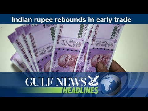 Indian rupee rebounds in early trade - GN Headlines