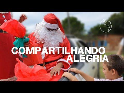 A Alegria de SERVIR de Coração - Ação de Natal Grupo Jovem Região São Carlos