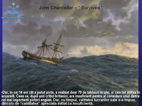 Valurile marii - Jhon Chancellor Paintings - Sound of the Waves / Marine Landscape