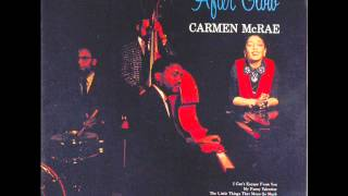 Carmen McRae - I can