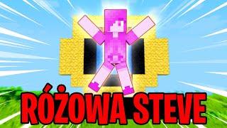 PRZYWOŁAŁEM RÓŻOWĄ STEVE NA FERAJNE!! KIM ONA JEST?! | Minecraft Ferajna