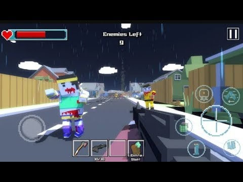 ► Blocky Zombie Survival (Pixel Royale) ZIC: Zombie City Survival FPS Android Walkthrough