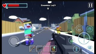 ► Blocky Zombie Survival (Pixel Royale) ZIC: Zombie City Survival FPS Android Walkthrough
