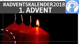 Buchverlosung zum 1. Advent – Die Merkhilfe Adventskalender 2018