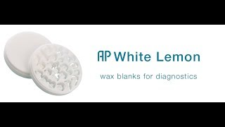 APWhite Lemon Wax Blank
