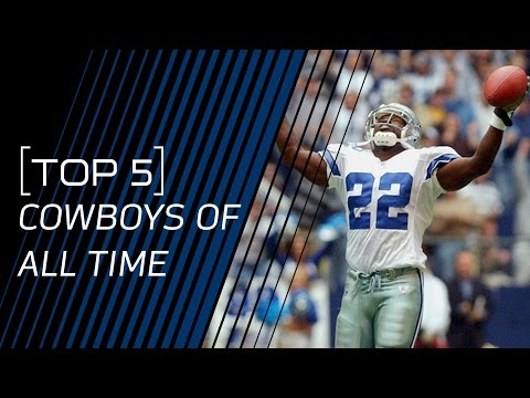 Top 5 Cowboys of All Time | NFL