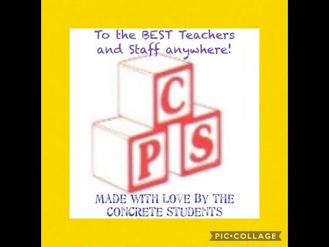 Concrete Primary Students Love Their Teachers - April 2020