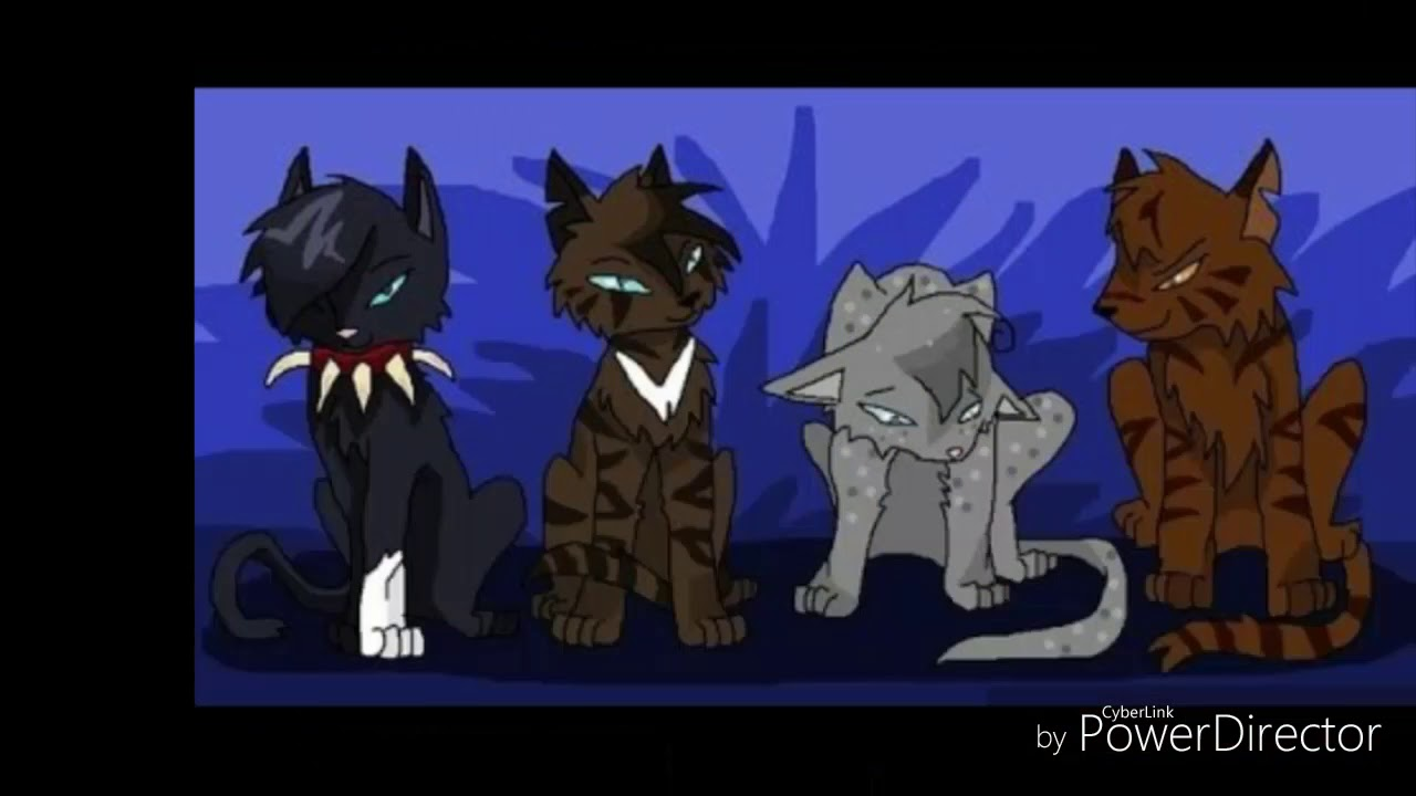 бумаги картинки коты воители бич и звездоцап и саша расскажем покажем