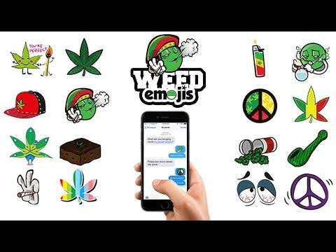 Weed Emoji Keyboard For IOS & Android | Download Emoji