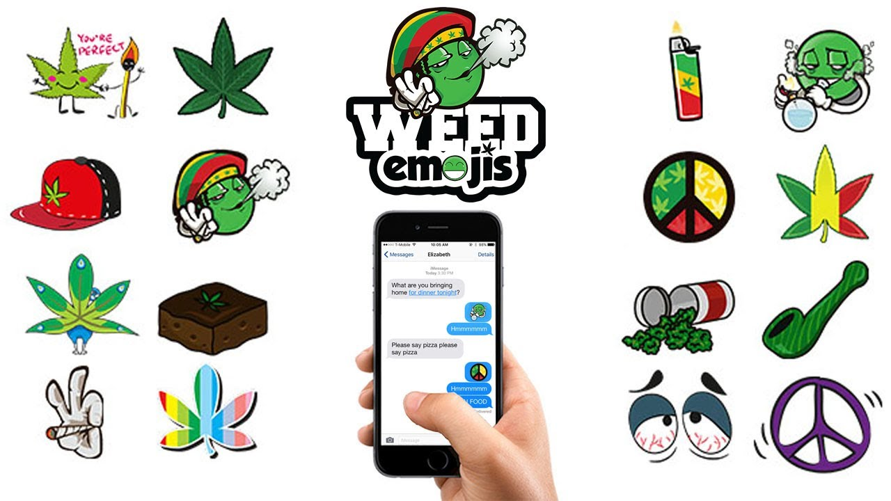 Weed Emoji Keyboard For Ios Android Download Emoji Youtube