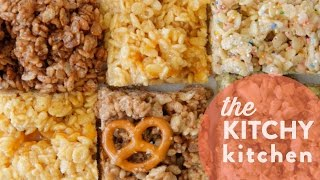 Rice Krispies 5 Ways // The Kitchy Kitchen