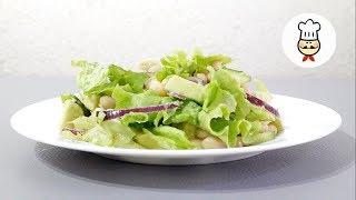 НОВЫЙ САЛАТ в ПОСТ / Вкусно и сытно / Простой салат на ужин