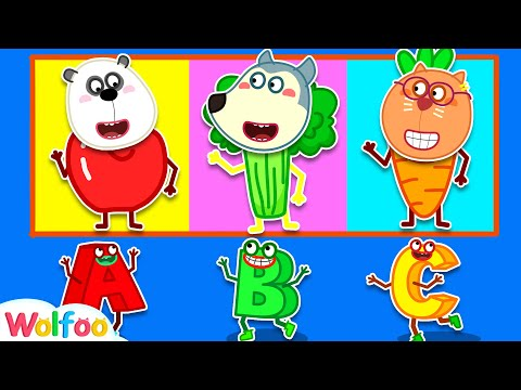 🔠ABC Game - Learn Alphabet With Wolfoo | Wolfoo Family Kids Cartoon