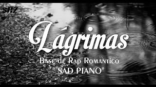 BASE DE RAP ROMANTICO - LÁGRIMAS - SAD PIANO - INSTRUMENTAL DE RAP