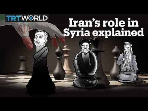 What is Iran doing in Syria?