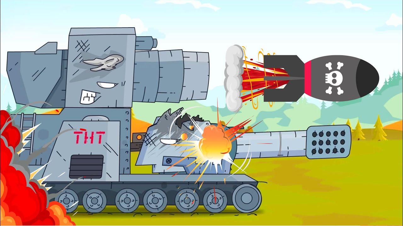 Download Tanques atacaron al enemigo. Tanques animados para niños. Mundo de tanques animados.