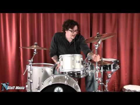 Yamaha Rock Tour Drum Kit (Matte Silver)