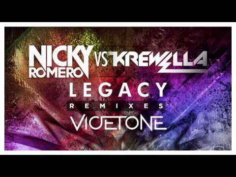 Nicky Romero vs Krewella- Legacy (Vicetone Remix)