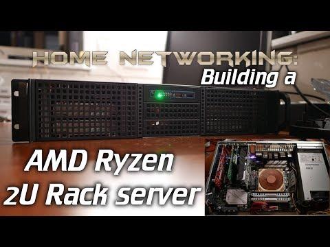 Home Networking: Building a 2U AMD Ryzen server (Inter-Tech IPC 2U-20255)