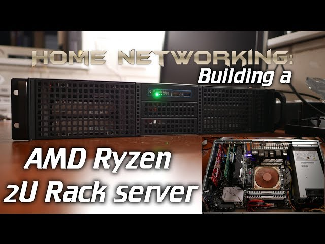 Building a 2U AMD Ryzen server (Hardware configuration + ZFS