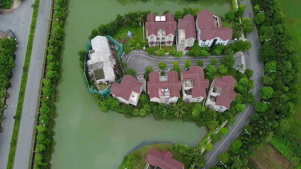 Khu đô thị Vinhomes Riverside –  Long Biên nhìn từ trên cao
