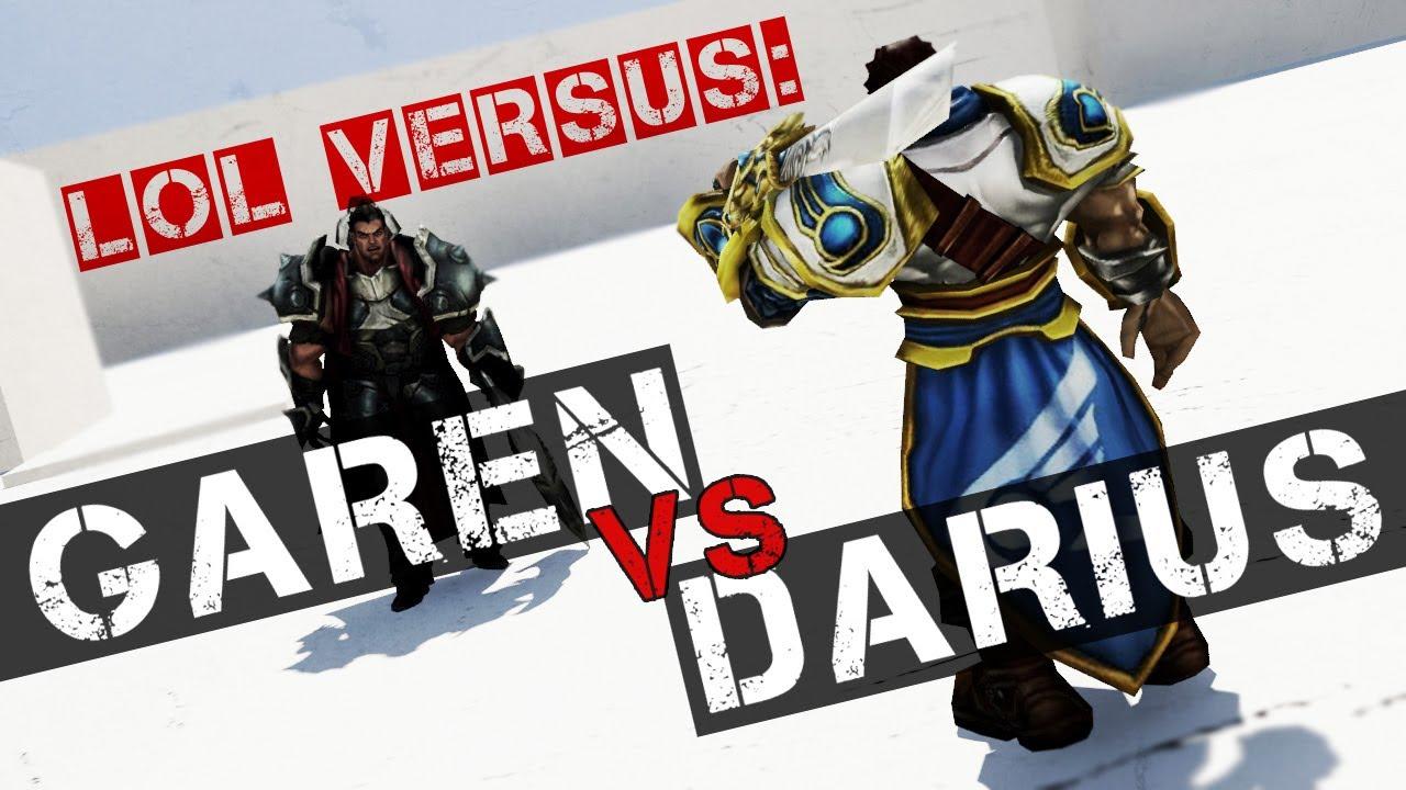 Garen Vs Darius Poster | www.pixshark.com - Images ...
