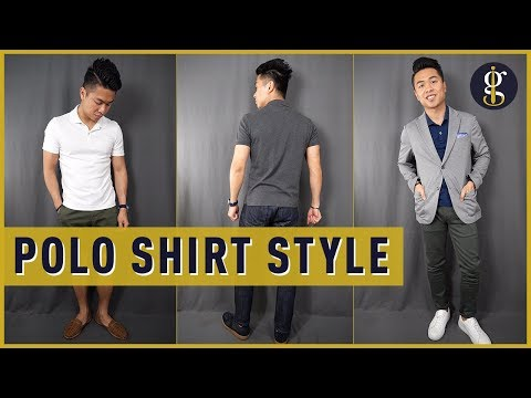 3 Quick And Easy Ways To Wear A Polo Shirt (Men's Outfit Inspiration)