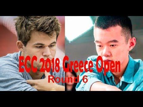 Carlsen's Worst Nightmare Ding Liren In A Really Exciting Thriller! ECC Greece Round6 17 Oct 2018