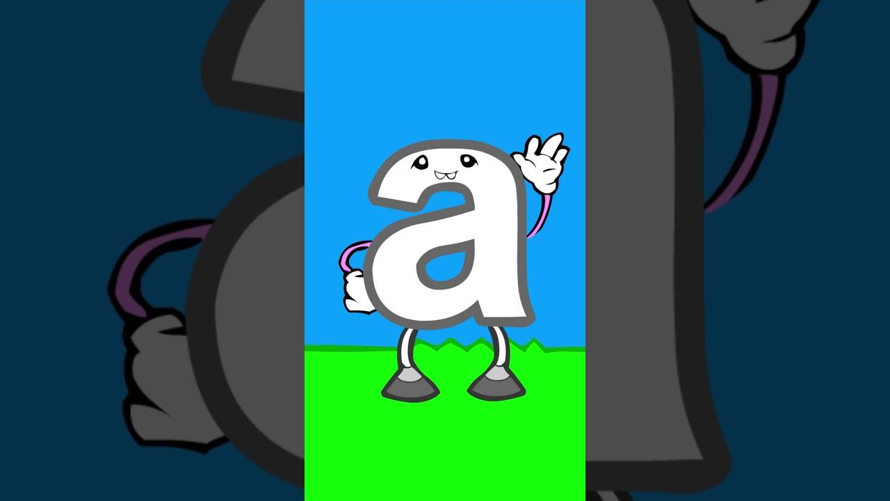 "Meet the Letters - ""a"" | Preschool Prep Company #shorts"
