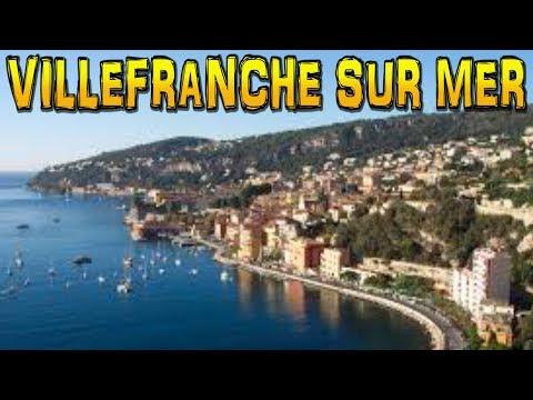 VILLEFRANCHE sur MER - France in 4K