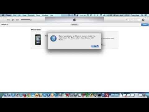 Hướng dẫn cách cài lại iPhone, iPad bằng restore firmware gốc