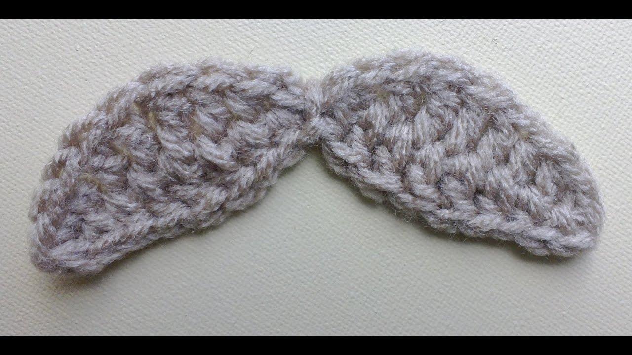 Wide mustache crochet tutorial youtube bankloansurffo Images