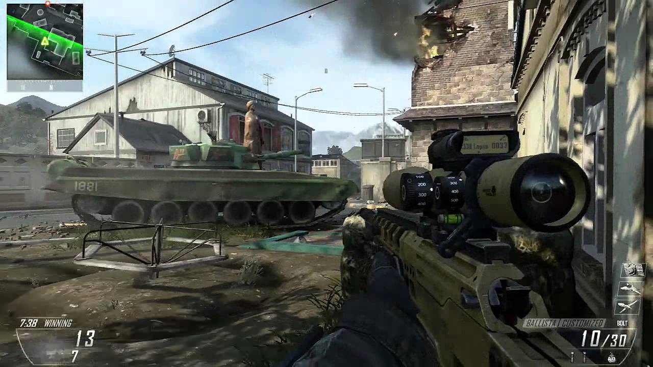 Optic Predator 30 3 Black Ops 2 Sniper Gameplay Youtube