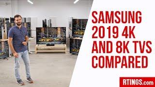 All Samsung 2019 4k and 8k TVs Compared – RTINGS.com