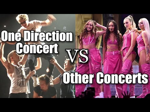 ONE DIRECTION CONCERT vs OTHER CONCERTS