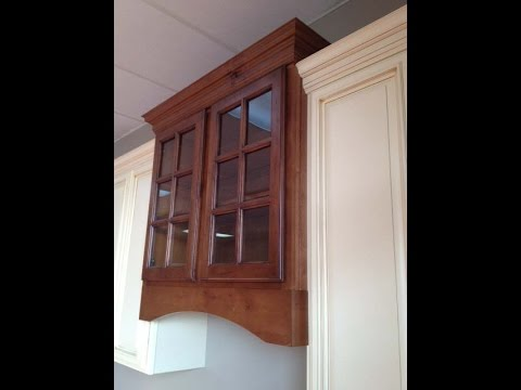 Installing Crown On Cabinets.