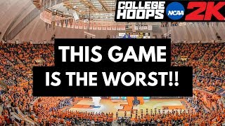 THIS GAME IS THE WORST!!! [NCAA College Hoops 2K8 Legacy Mode] Pt. 16