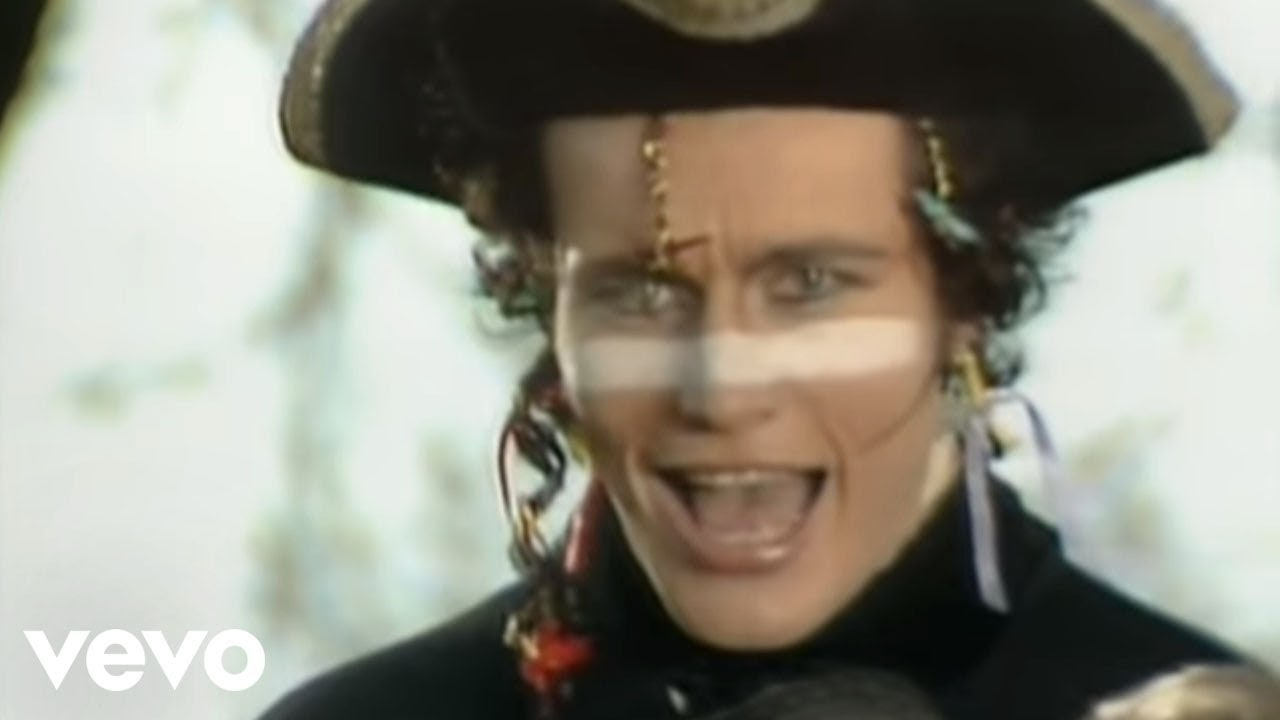 Adam ant stand and deliver costume