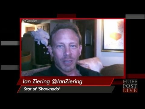 Ian Ziering On 90210 Cast's Reaction To 'Sharknado'  HPL