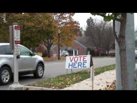 Voting @ Sam Corey Senior Center in Delhi Charter Township