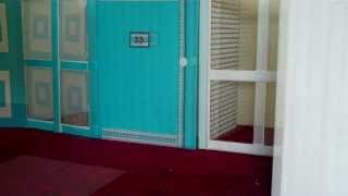 How To Make A Doll House Part 3 Window Shutters And Screens